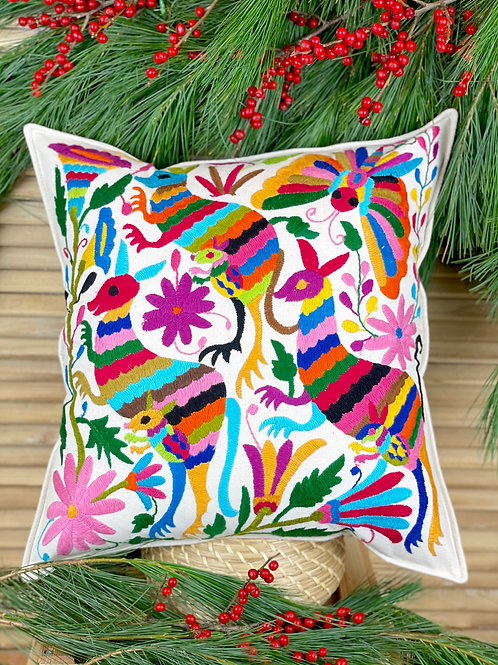 Otomi cushion cover - Multicolor #35