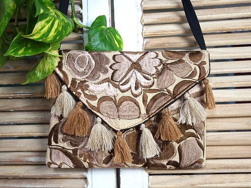 Clutch bag - Las Flores arena