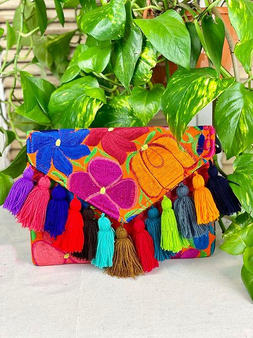 Las Flores clutch bag - Multicolor 4