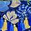 Thumbnail: Las Flores clutch bag - Azul 2