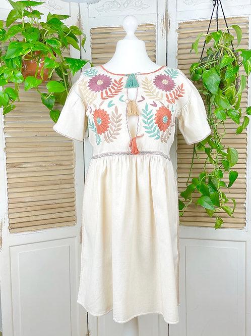 """Margarita dress open """"Dreamy"""" - Large size"""