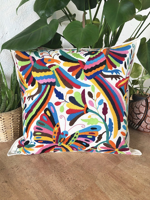 Otomi multicolor pillow cover  #12