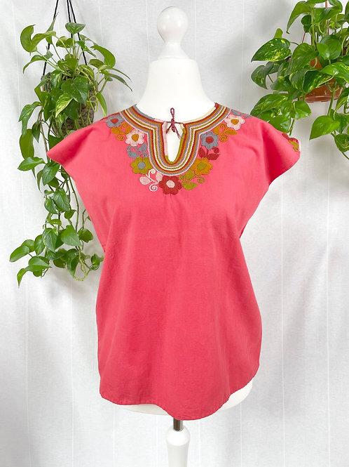 Dominga blouse - Coral