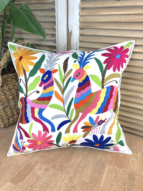 Otomi cushion cover - Multicolor #18