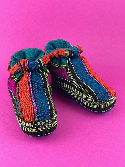 Guatemalan Slippers - Kids Size 20 cm.
