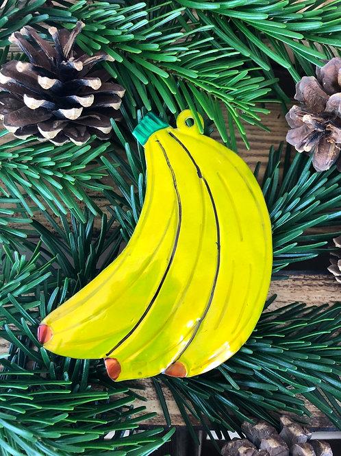 Bananas - Christmas Tree Tin ornament