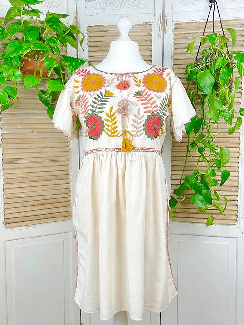 "Margarita dress open ""Earth"" - Large size"