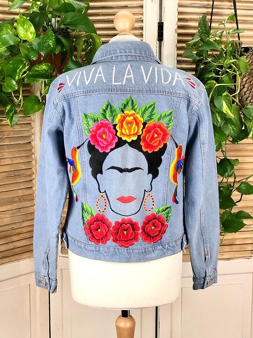 Jeans Jacket - Frida size 34 / Light blue