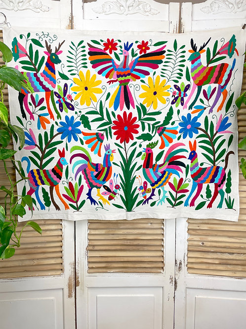 """Otomi piece """"Multicolor Fiesta"""""""