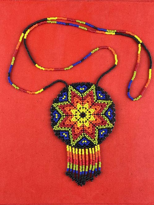 Mandala - Huichol necklace