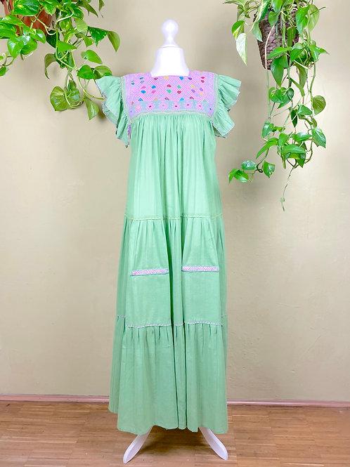 Maxi dress Andrea -  Mint  - One size fits all