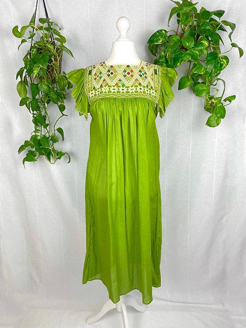 Green II Long dress Andrea - One size fits all