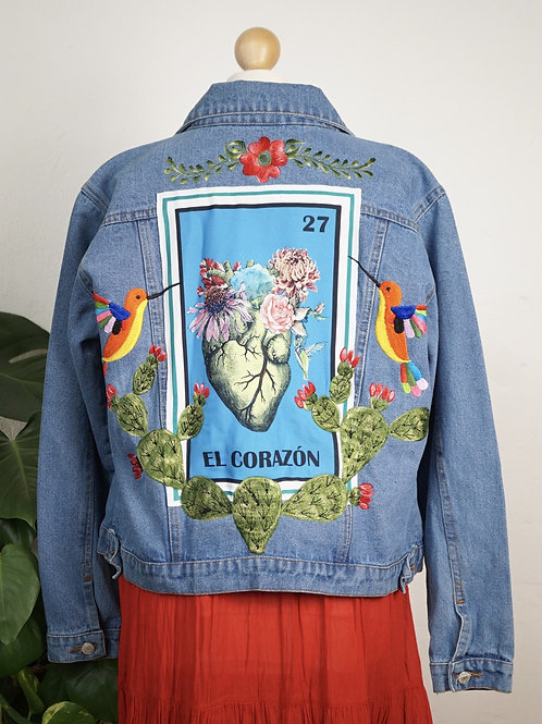 Jacket - El corazon size 38 / Light blue
