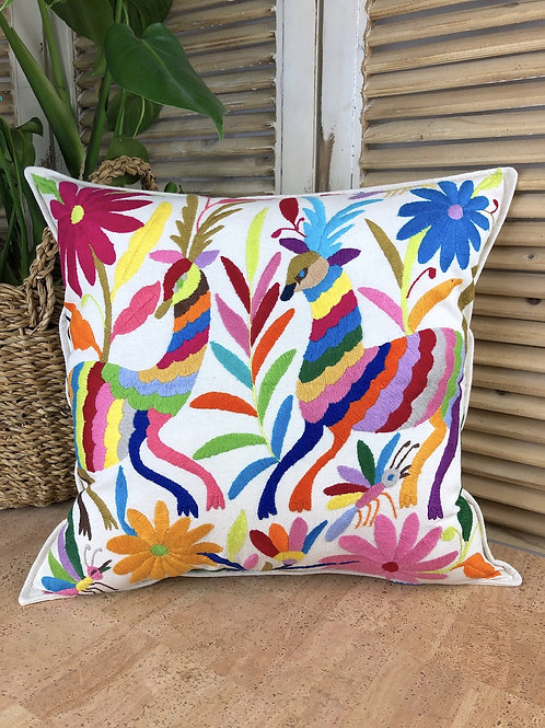 Otomi cushion cover - Multicolor #22