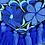 Thumbnail: Las Flores clutch bag - Azul
