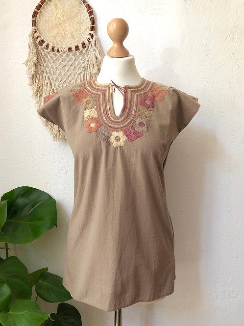 Dominga blouse - Mokka