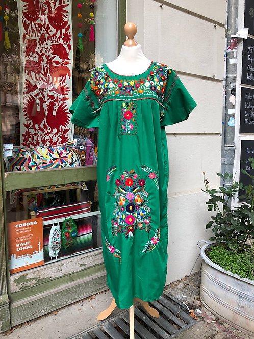 RESERVED Green Puebla dress - Large/XL