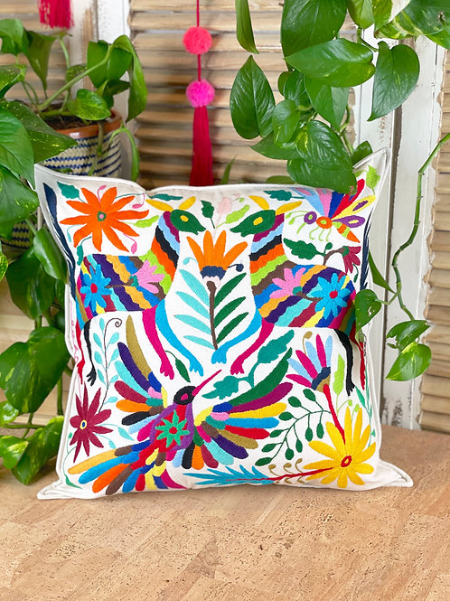 Otomi cushion cover - Multicolor #26
