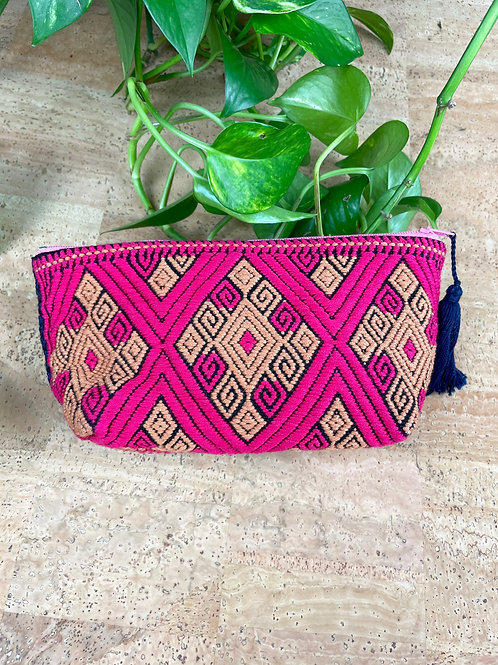 Woven cosmetic bags - Various colours