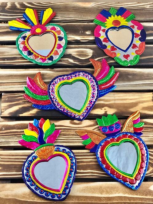 Sacred Heart wall mirror / Multicolor