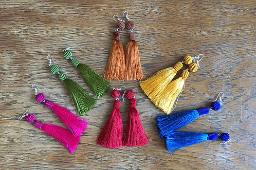 Tassel earrings Pascuala