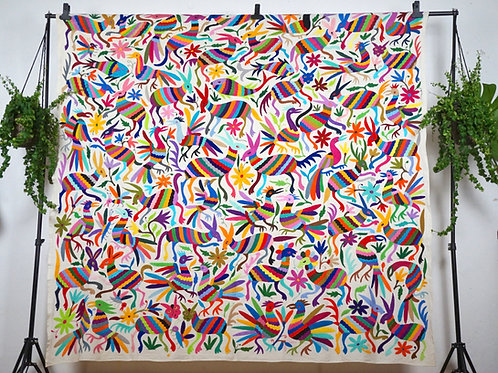 Otomi multicolor big piece