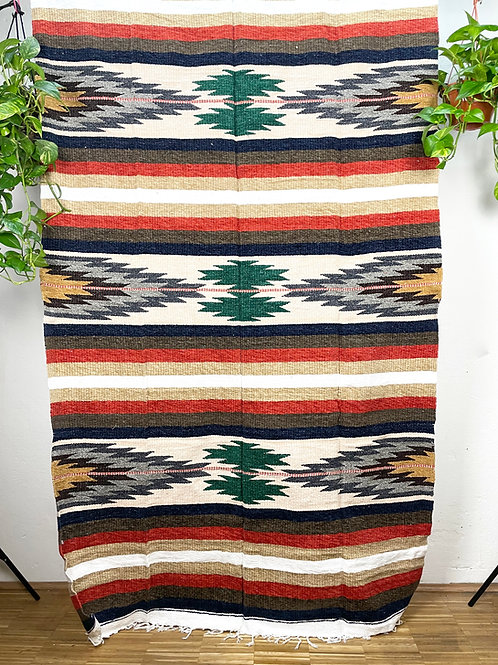 Tlaxcala Chenille blanket