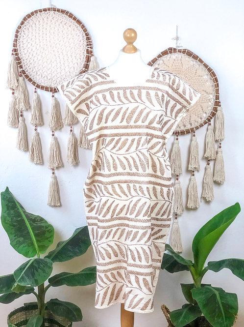 Palmita dress khaki
