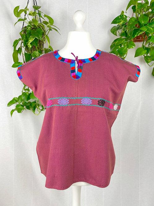 Aldama blouse -  Dark red
