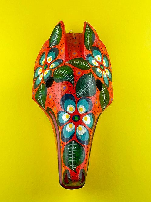 Wooden mask - Fox