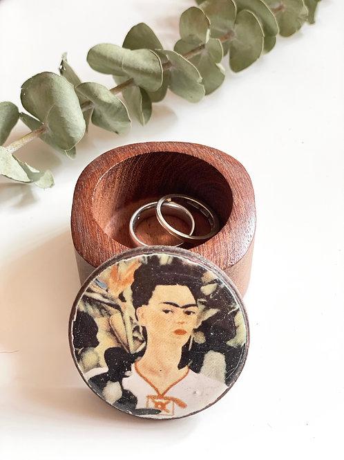 Frida wooden box mini
