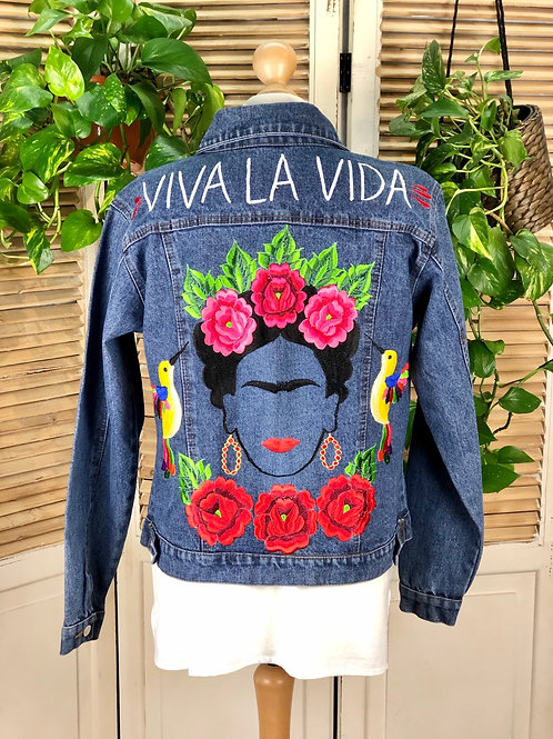 Jeans Jacket - Frida size 36 / Dark blue