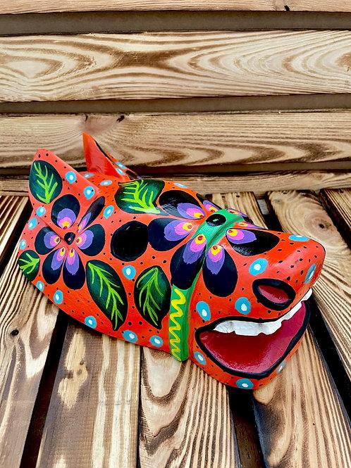 Wooden mask - Horse I