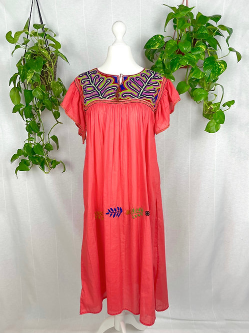 Coral Long dress Nuditos - One size fits all