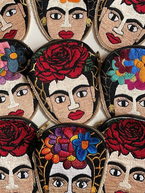 Frida coin purse by El Jaguar Dorado