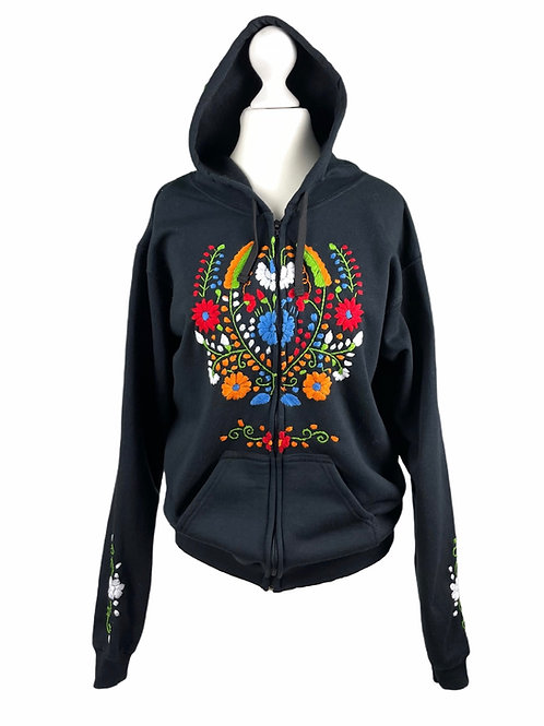 Tehuacan Hoodie with zipper - Small