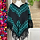Thumbnail: Quexquemitl - Black and turquoise