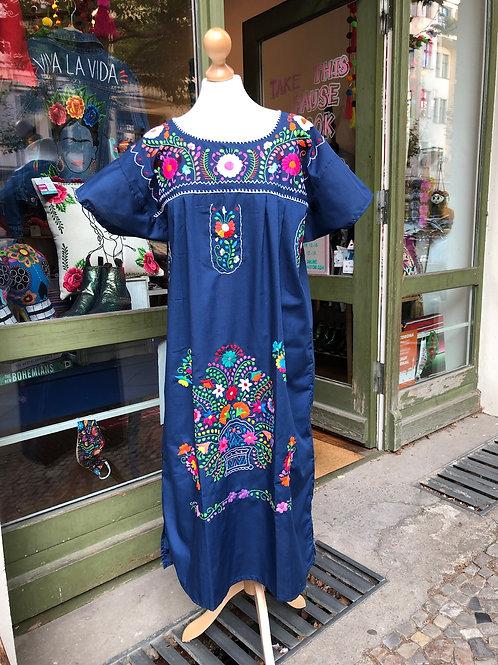 Navy Blue Puebla dress - Large/XL