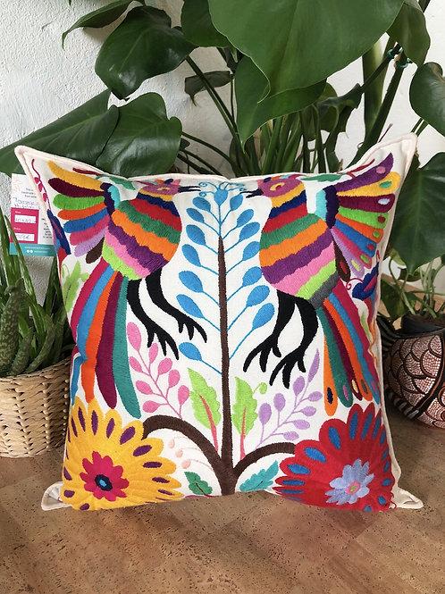 Otomi multicolor pillow cover  #14