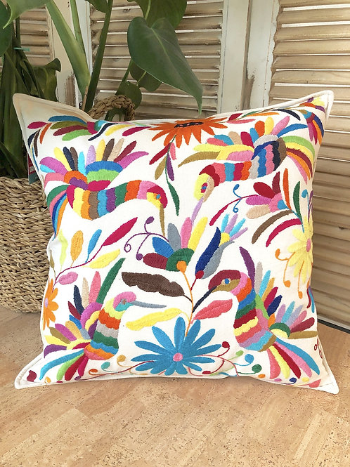 Otomi cushion cover - Multicolor #24