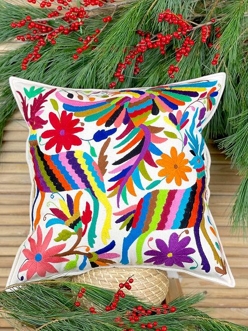 Otomi cushion cover - Multicolor #37
