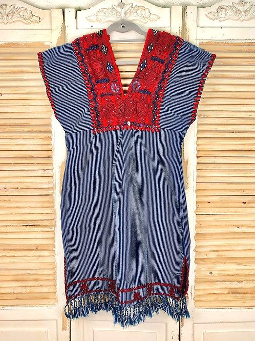 Chenalhó dress blue
