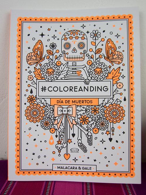 DIA DE MUERTOS colouring book