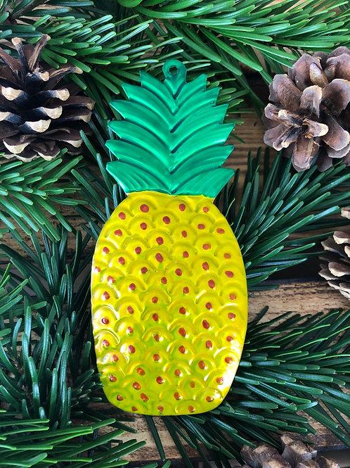 Pineapple - Christmas Tree Tin ornament