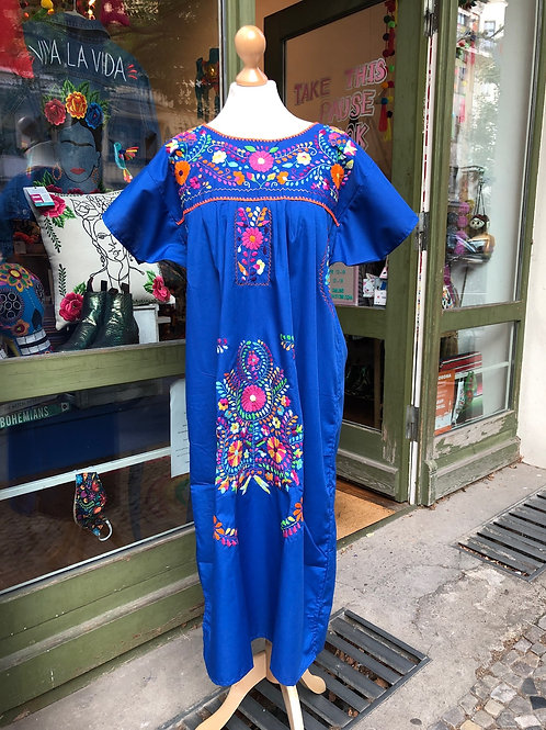 Blue Puebla dress - Medium