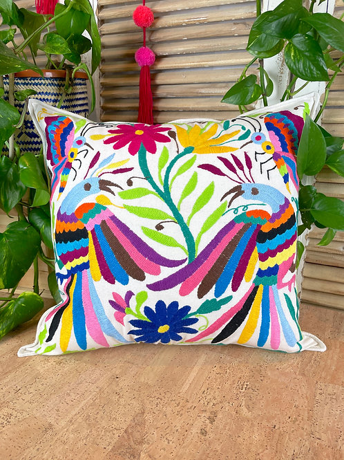 Otomi cushion cover - Multicolor #30