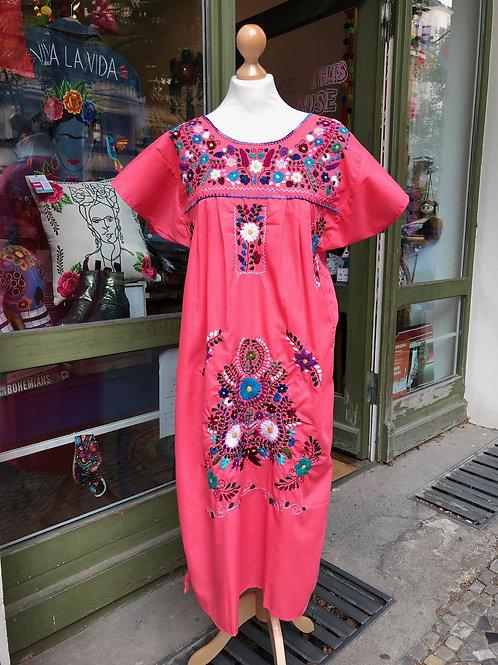 Salmon Puebla dress - Medium
