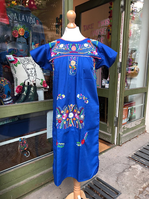 Blue Puebla dress - Small