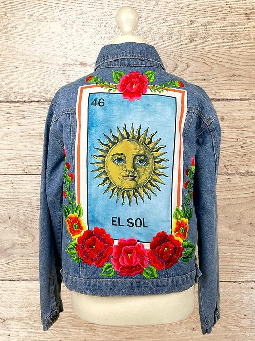 Jeans Jacket - El Sol size 38