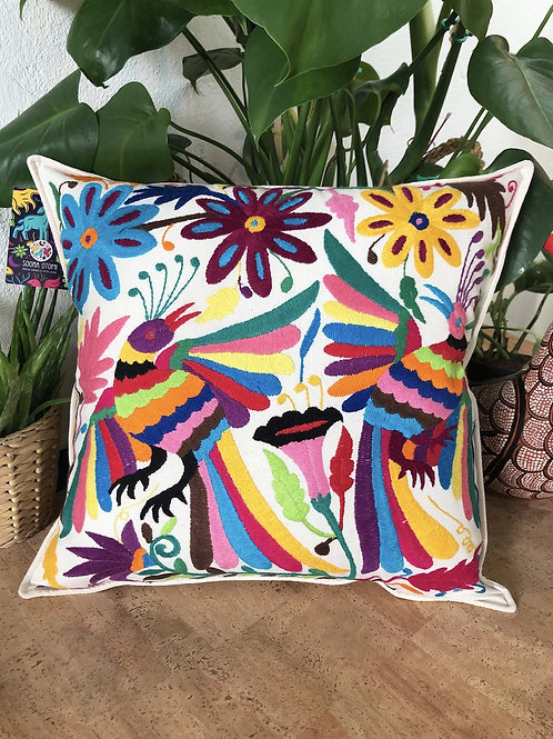 Otomi multicolor pillow cover  #15